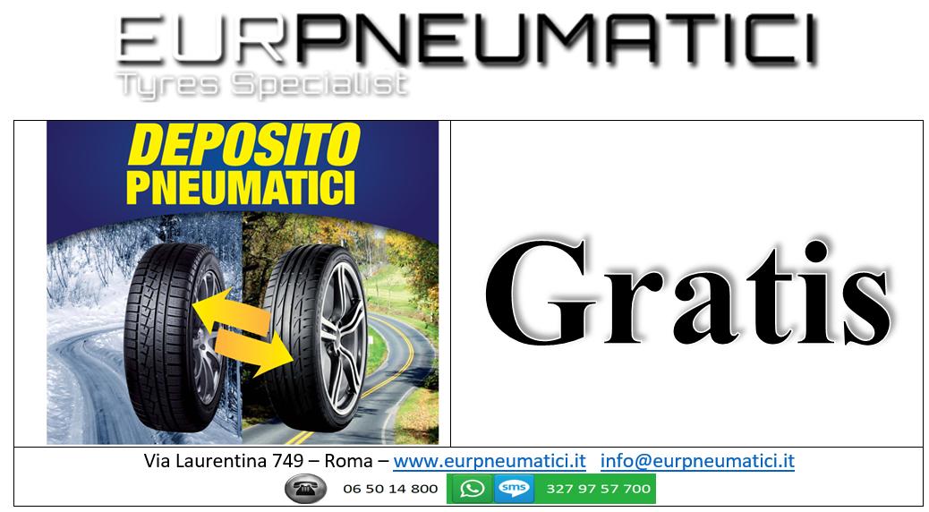 Deposito Pneumatici GRATIS